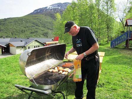 Jan Arne Johansen på besteforeldredag