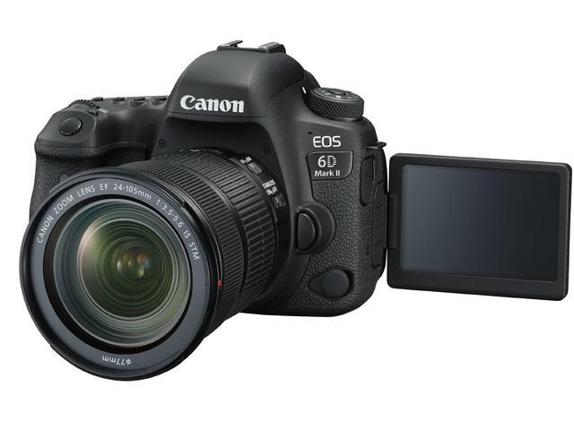 EOS 6D Mark II har fått en fleksibel berøringsskjerm og er værtettet.