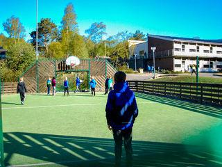 Ballbingen på Grøne Bråden skole