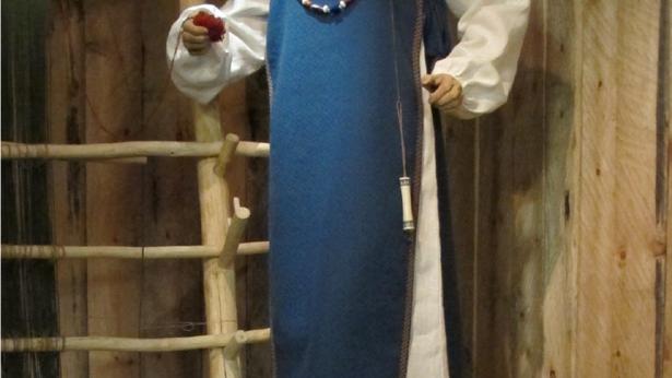 Merovingerfrua fra 800-tallet