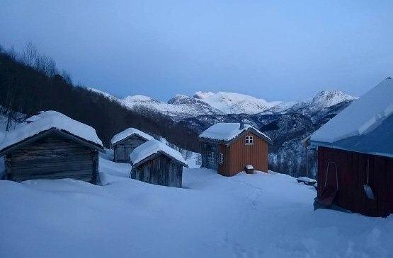 Vinter i Kjelvika