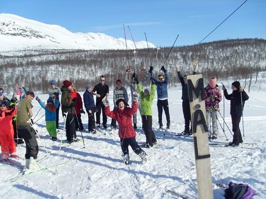 Skiaktivitet i IL Leirgutten