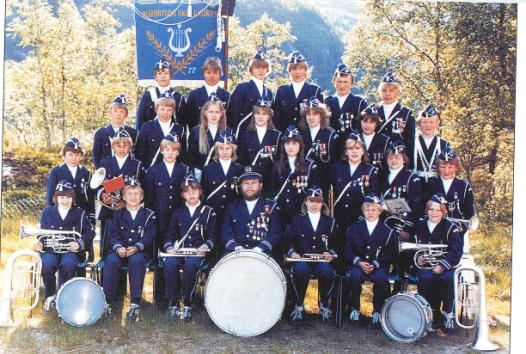 Nordbygda skolekorps 1983