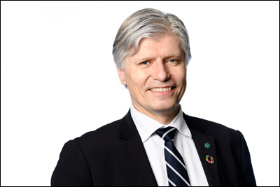 Ola Elvestuen. Foto: Klima- og miljødepartementet