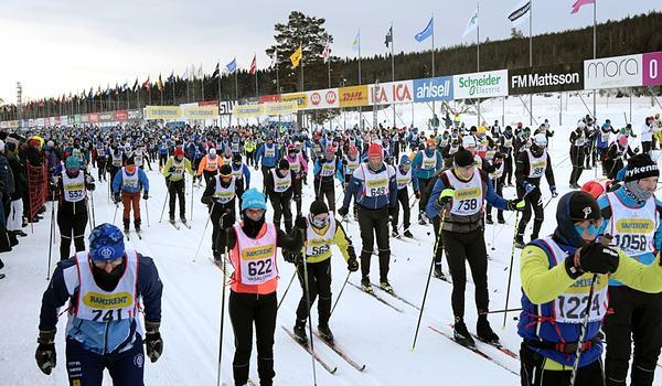 Vasaloppet erbjuder i vinter flera olika transportlösningar för deltagarna i vinterveckan. FOTO: Ulf Palm/Vasaloppet.
