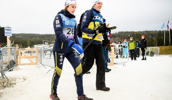 Går Ebba Andersson mot ännu en pallplats när världscupen rullar vidare i norska Beitostölen? FOTO: Jon Olav Nesvold/Bildbyrån.