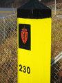 Norwegian border mark