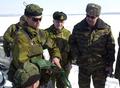 Norwegian equipment demonstration for Russian BC