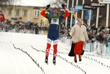 DANIEL TYNELL vinner Vasaloppet 2009, det gav en skjuts för Support Center. Foto: PER FROST