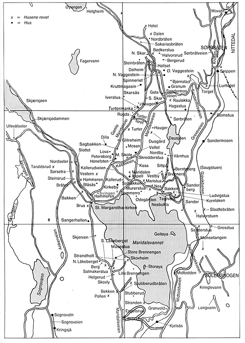Kart Maridalen