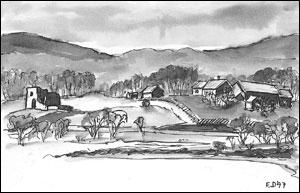 Kirkeby gård Frances Dodman