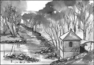 Vannmålehus; Frances Dodman