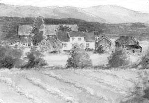 Skjerven gård; Målfrid Voll