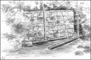 Ruinene ullspinneri; Målfrid Voll