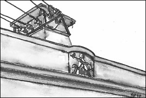 St. Hallvard hammeren; Frances Dodman