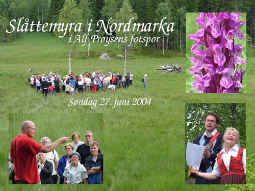 Stemningsbilde orkidetur Foto: © Harald Gjerde (2004)