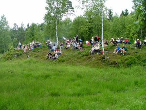 Konsert Slåttemyra; © Harald Gjerde (2004)