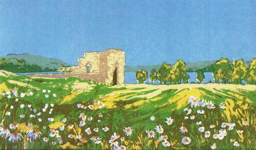 Kirkeruinen; Frances Dodman