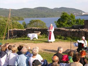 Olsokgudstjeneste 2004 Foto: Tor Øystein Olsen