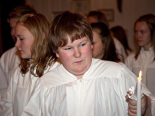 Lysmesse i Hasvik kirke