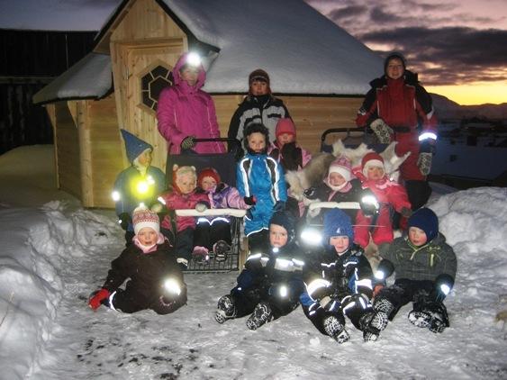 Grillhytte i Hasvik barnehage