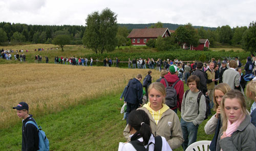 Skoleforestilling Maridalsspillet Foto: Tor Øystein Olsen