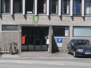 Skolekontoret ligger i rådhuset
