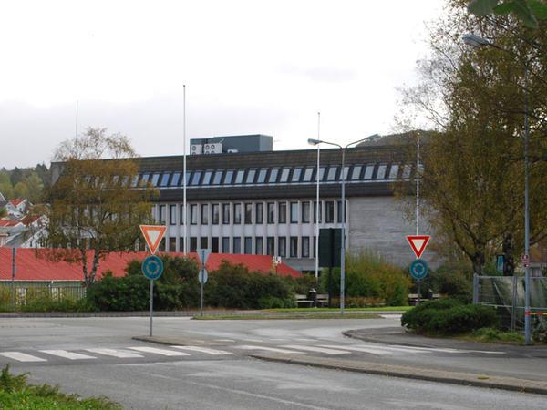 Rådhuset i Egersund sentrum