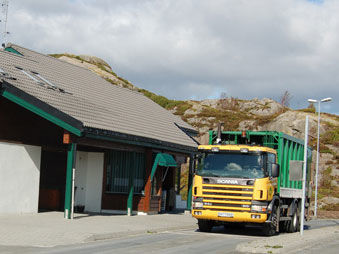 Dalane interkommunale miljøverk sitt anlegg på Svåheia