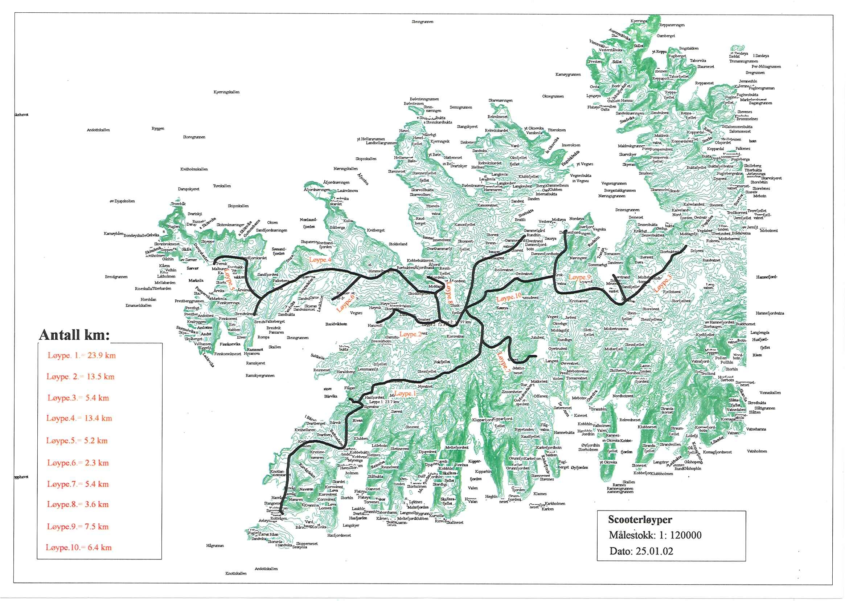sørøya kart Motorferdsel i utmark og vassdrag   tjenestebeskrivelse   Hasvik  sørøya kart