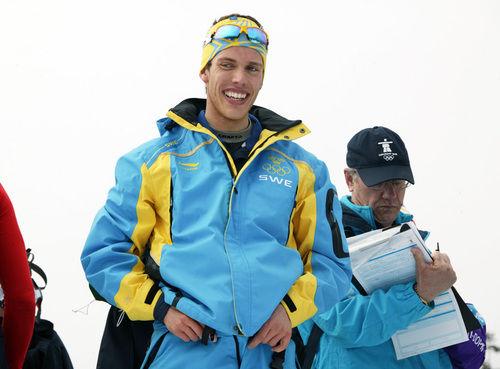 OS-HJÄLTEN Marcus Hellner har också tilldelats Jerringspriset 2010. Foto: KJELL-ERIK KRISTIANSEN