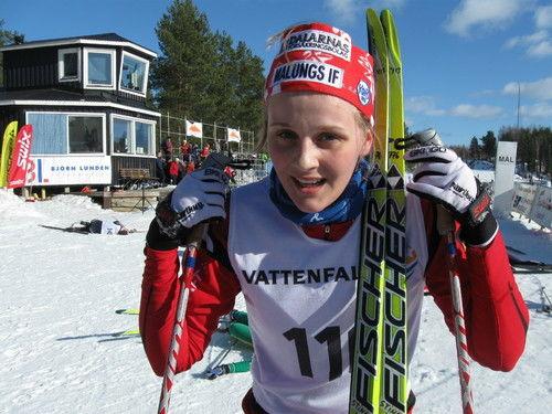 Stina Nilsson, Malungs IF. Foto: Christian Höijer /arkiv