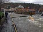 Oversvømmelse i lundeåne