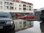 Oversvømmelse med biler