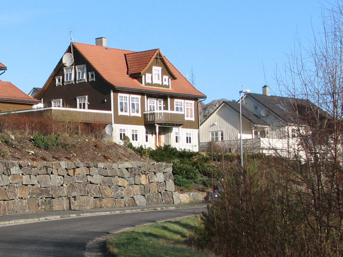 Hus på Langevann i Egersund