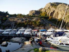 Egersund Båtforening. Bilde fra klubbens hjemmeside