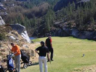 Egersund golfklubb. Bilde fra klubbens hjemmeside