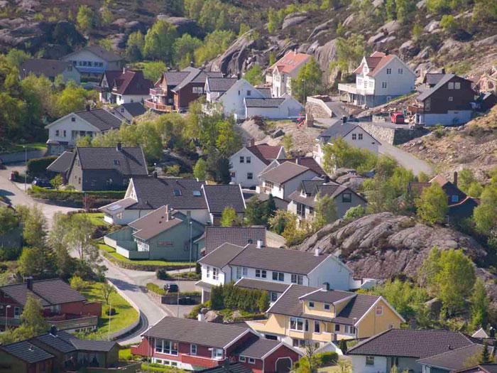 Byggefelt i Eigersund