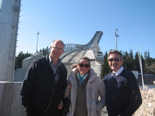 Ola Fagerheim, Fiona Martinelli, Odd Kaldefoss