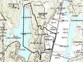 Slettebø Plankart