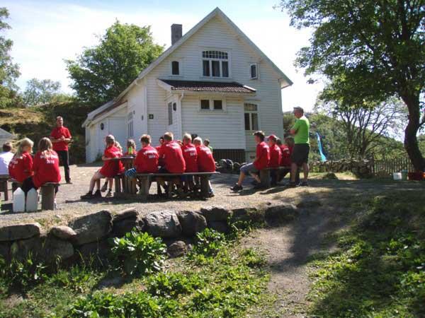 Leif på Gaudland, sommeren 2010. Samling