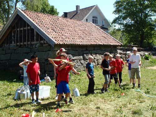 Leif på Gaudland, sommeren 2010. Diverse aktiviteter
