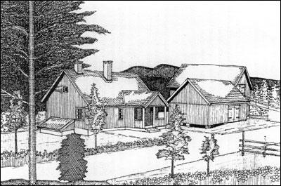 Nordseter Tegning: Tom Stensaker