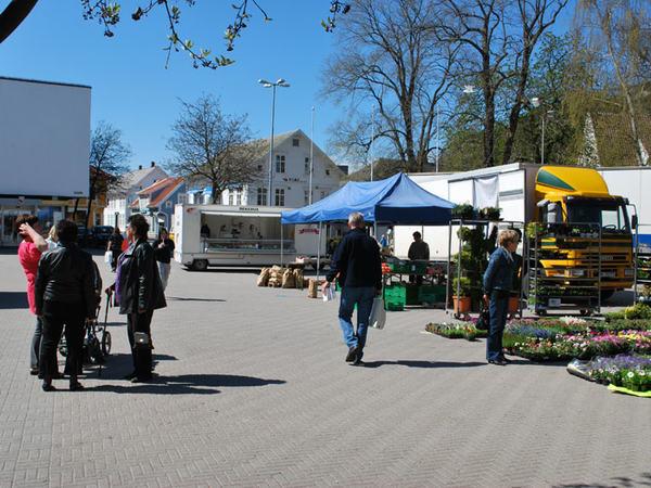 Egersund torg. foto: Sem hadland