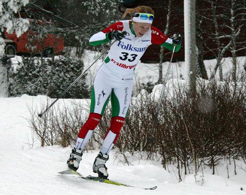 JENNIE ÖBERG drömmer om sprintlandslaget. Foto: MOA MOLANDER KRISTIANSEN
