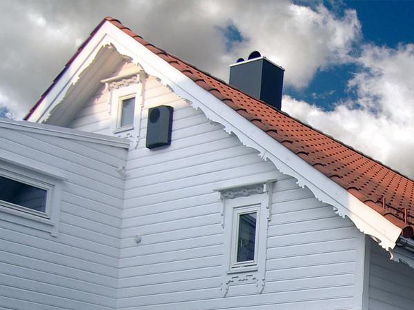 Hustak i Egersund sentrum
