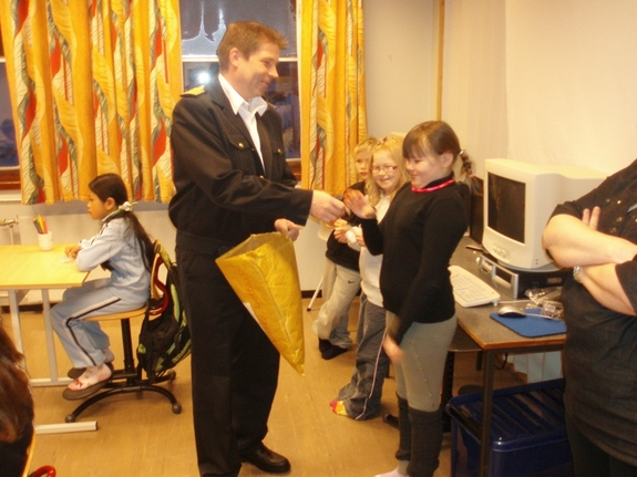 3. klasse ved Hasvik skole