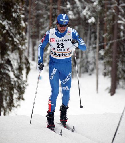 NIKOLAI PANKRATOV har stängts av i två år på indicier om dopingmisbruk. Foto: KJELL-ERIK KRISTIANSEN