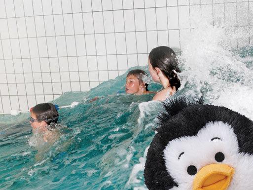 Bading med Pingvinen fritidsklubb