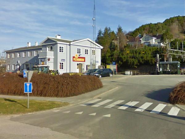 NSB jernbanestasjonen på Eie